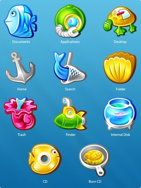 Underwater Icons icons pack