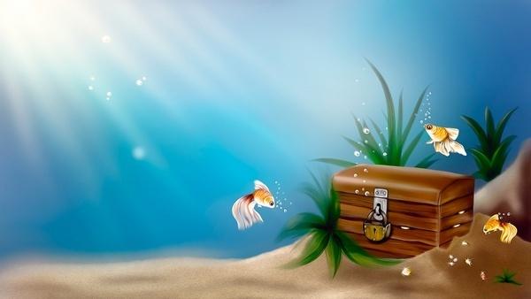 underwater treasures