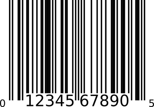 Barcode happy birthday. Free vector download for