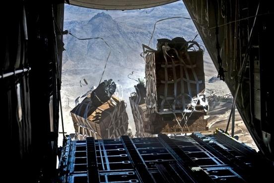 us air force pallet drops food