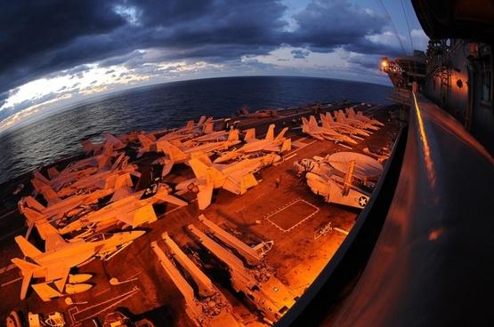 us navy ship aircraft