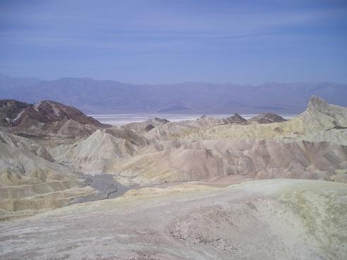 usa death valley desert
