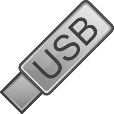 Usb Flash Drive Icon clip art