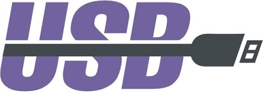 usb logo vector