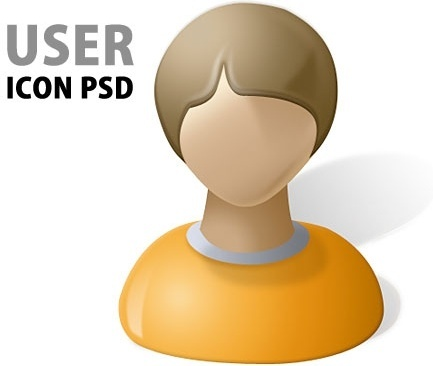 User Icon PSD