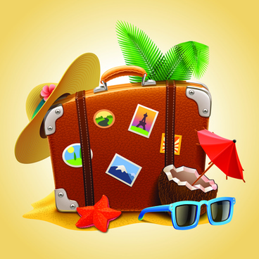vacation design vector backgrounds
