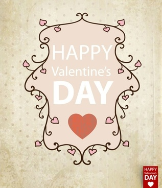 valentine39s day card background 01 vector