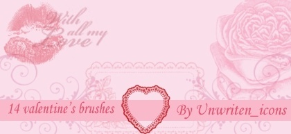 Valentine's Brushes
