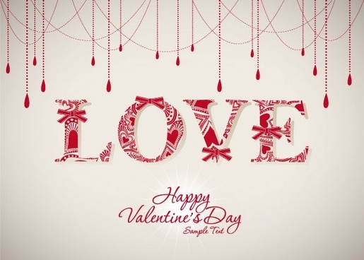 valentine background 05 vector