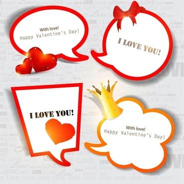 valentine bow box vector