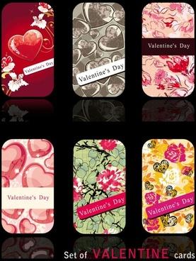 valentine card 01 vector