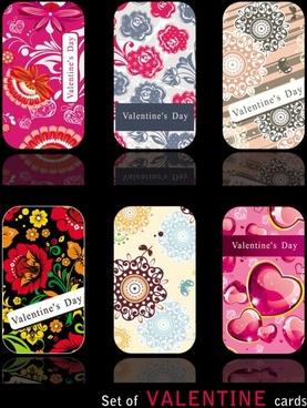valentine card 02 vector