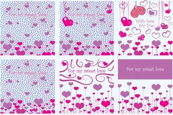 Valentine Card Vectors
