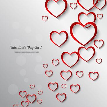 valentine day card decor background