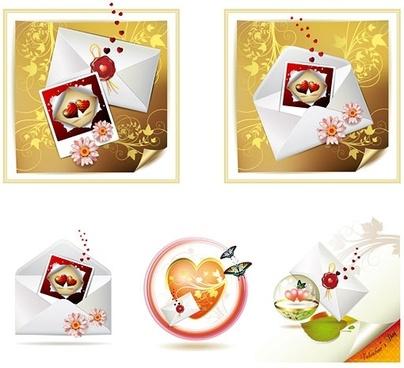 valentine day clip art letter