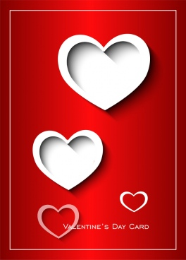 valentine day landscape card valentine day card 2018 valentine day hearts card