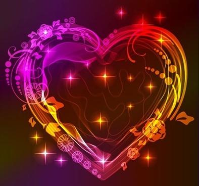valentine gorgeous light 05 vector