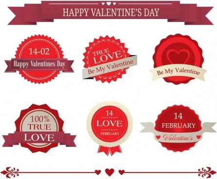 Valentine lable