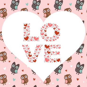 valentine love birds bird line art pattern vector
