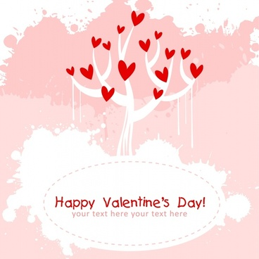 valentine love tree line art bird pattern vector