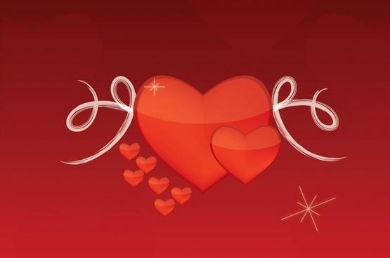 Valentine Love Vector