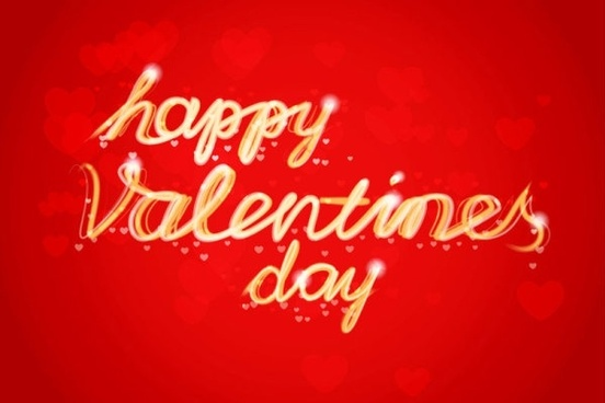 valentine wordart background 02 vector