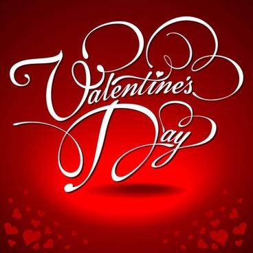 valentine wordart background 04 vector