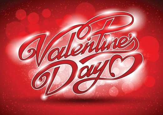 valentine wordart background 05 vector