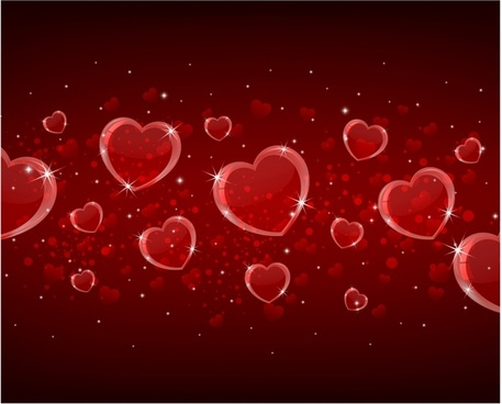 Free Valentine Background Vector Graphics Free Vector Download