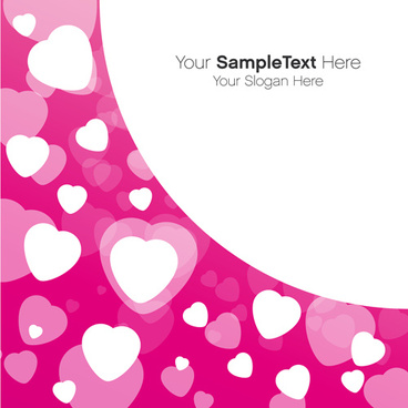 valentines day creative background vector