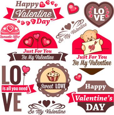 valentines day romantic labels