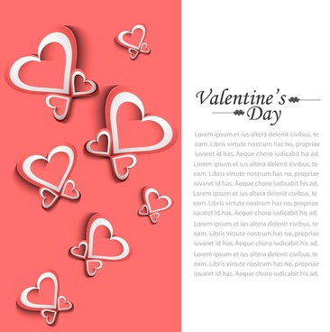 valentines day wedding colorful love card background illustration