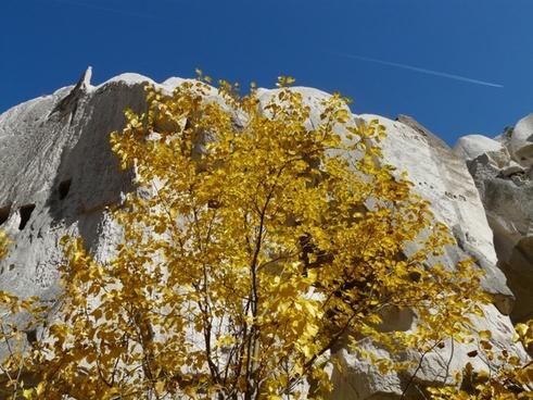 valley of roses cappadocia tufa rock
