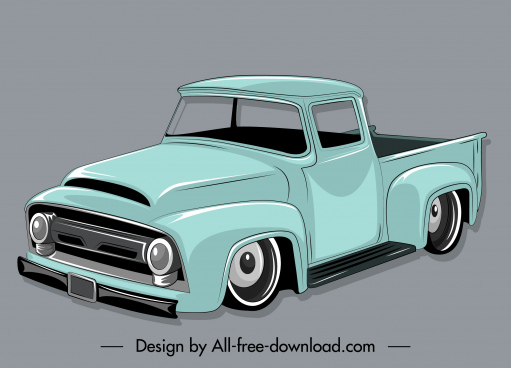 van icon classic decor 3d sketch