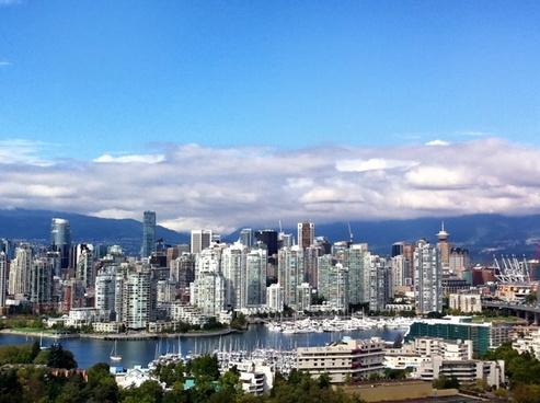vancouver canada skyline