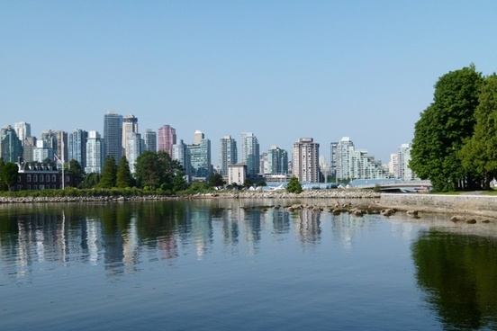vancouver skyline buildings
