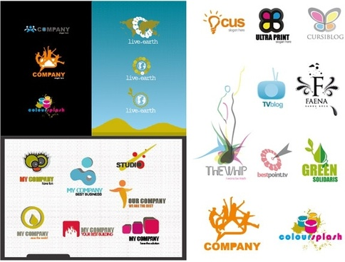 Logo Free Vector Download Free Vector For Commercial Use - Free modern logo templates