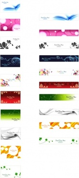 decorative background collection colorful modern decor