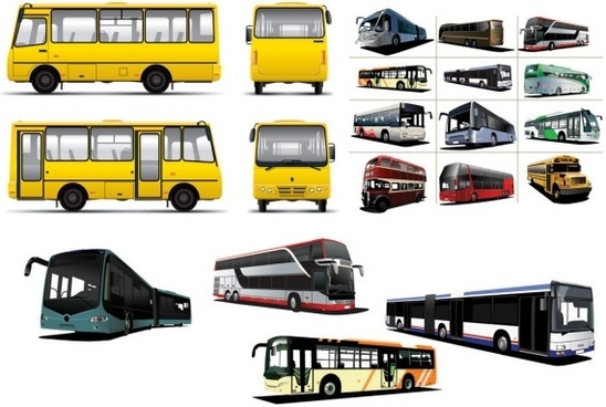various bus bus vector