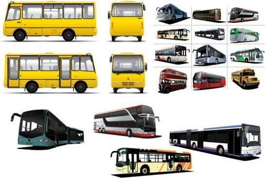 various bus bus vector