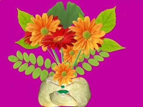 vase arrangement flowers