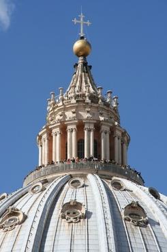 vatican st peter's basilica dome