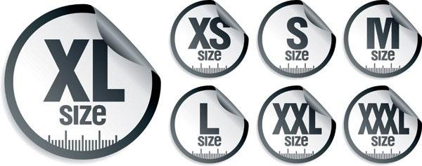 vector 5 stickers