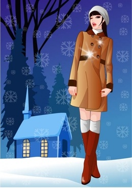 vector 7 in winter women