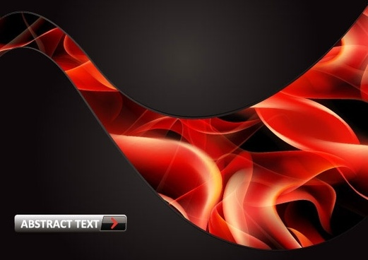 vector 8 flame red smoke