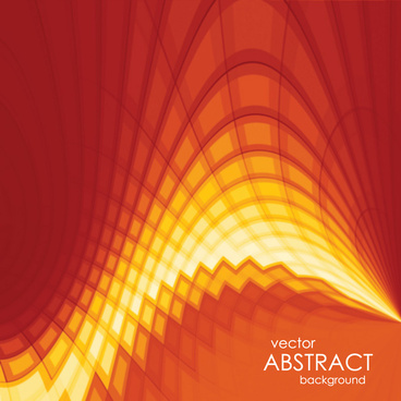 vector abstract background with sunset colors