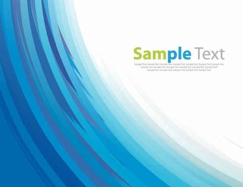 Vector Abstract Blue Background Artwork