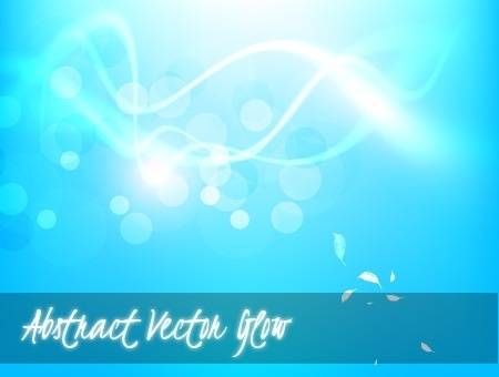 abstract blue background sparkling bokeh design