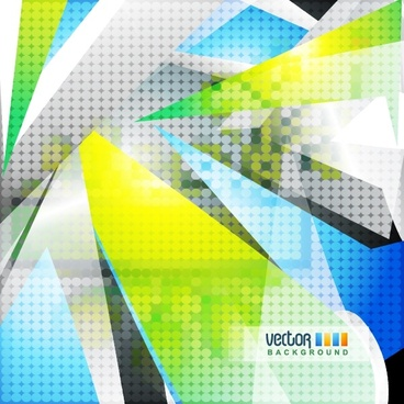 vector abstract dynamic elements