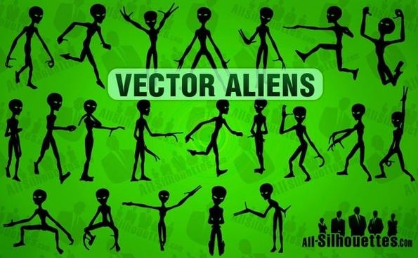 Vector Aliens